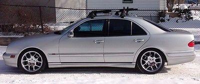 Mercedes-Benz : E-Class E55 AMG 2002 w 210 mercedes benz e 55 amg like bmw m 5 m 3