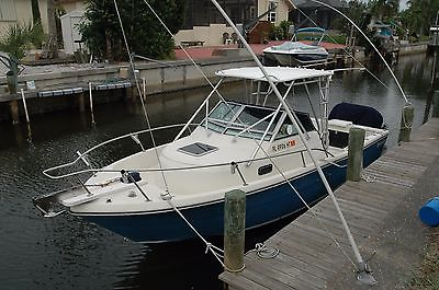 1986 2550 Pursuit W/A with Twin '03 200hp Yamaha OB's