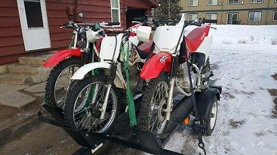 Honda : CRF Honda dirtbike package with trailer