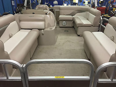18 Ft Pontoon Boat Boats For Sale