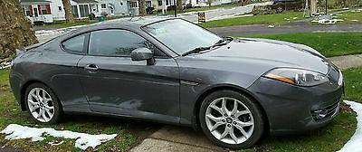 Hyundai : Tiburon GT Limited Coupe 2-Door 2007 hyundai tiburon gt limited coupe 2 door 2.7 l