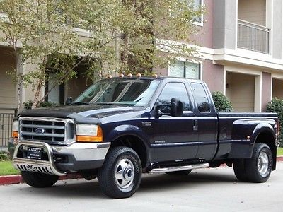 Ford : F-350 FreeShipping F-350 7.3L Diesel 4X4 Extended Cab Long Bed Dually XLT 74K Miles! MINT CONDITION