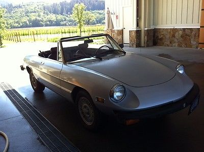 Alfa Romeo : Spider Veloce 1978 alfa romeo spider veloce