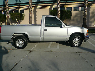 Chevrolet : C/K Pickup 1500 BASE RUST FREE CALI 96 CHEVY SHORT BED 1500 SWB C10  LOOKS NEW DRIVES LIKE  NEW