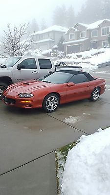 Chevrolet : Camaro Loaded Convertible SS SLP 2002 chevrolet camaro ss slp