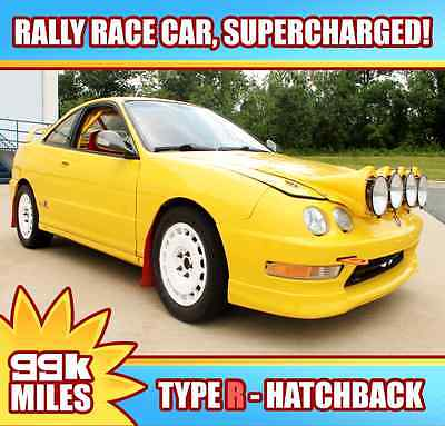 Acura : Integra Type R Hatchback 3-Door 2000 acura integra type r supercharged rally car one of a kind civic jdm subaru