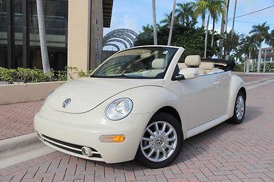 Volkswagen : Beetle-New GLS 2005 volkswagen new beetle gls convertible