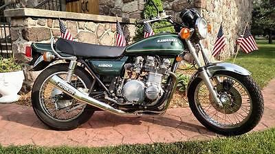 Kawasaki : Other 1976 kawasaki kz 900 a 4 green z 1 900 kz 1000 h 1 h 2