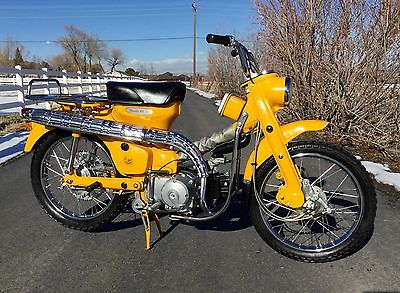 Honda : CT Beautiful All Original 1964 Honda CT200 Trail 90 Motorcycle CT90 Runs Perfect!!!