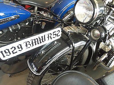 BMW : R-Series 1929 bmw r 52 sidevalve 486 cc