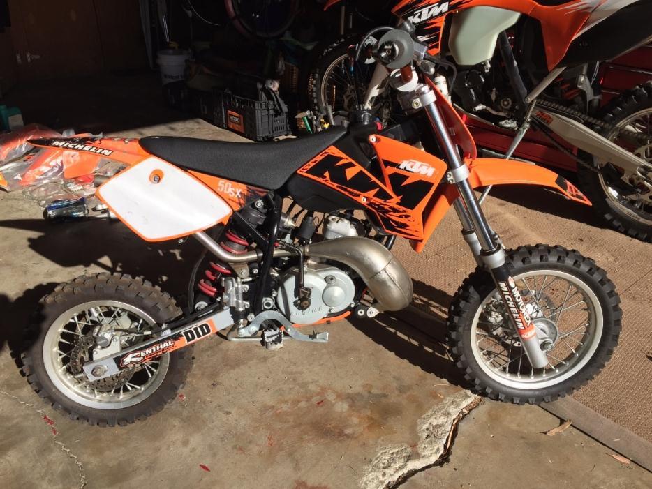 Ktm 50 Pro Senior Motorcycles For Sale
