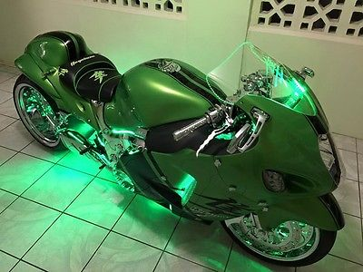 Suzuki : Hayabusa Suzuki  06 Hayabusa 330  Fully Custom Single Side 06 /  5700 Miles