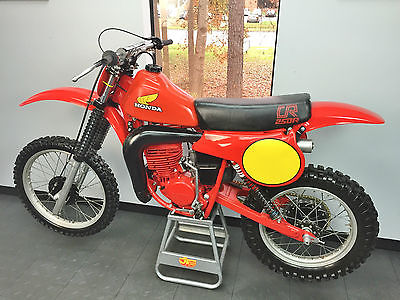 Honda : CR 1980 honda cr 250 must see resto cr 250 ahrma vmx twin shock fox shocks
