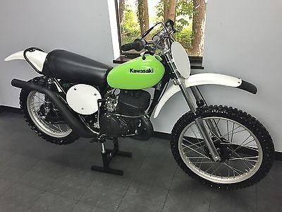 Kawasaki : KX 1974 kawasaki kx 450 rare vintage mx piece of history kx 450