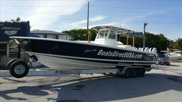 2015 Contender Sport Fishing Boats 39 ST