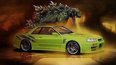 Nissan : GT-R 1989 nissan skyline gt r custom show car