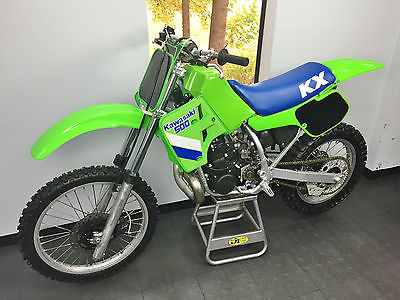 Kawasaki Kx 1987 Kawasaki Kx 500 Full Engine Rebuild And Resto Kx 500