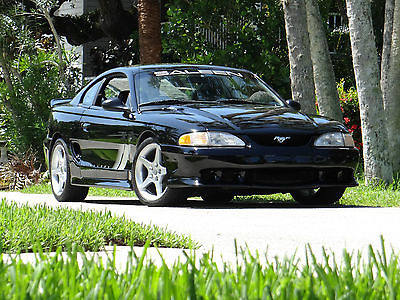 Ford : Mustang Saleen S281 ADULT OWNED AND CARED FOR ALL STOCK BLACK INT/ BLACK EXT SALEEN S281 #118