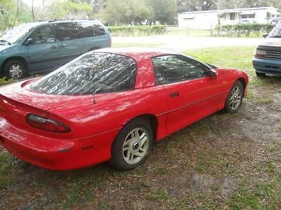 Chevrolet : Camaro 2dr Coupe No Reserve - 1996 CHEVY CAMARO V-6 RUNS NEEDS WORK