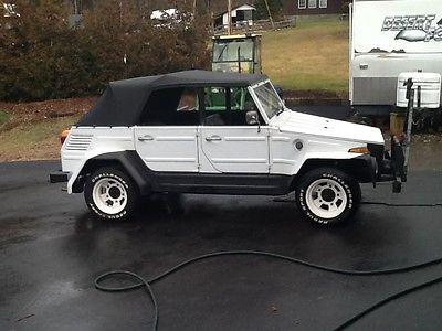 Volkswagen : Thing 4 DOOR 1973 volkswagen thing with gas heater custom wood floor boards rebuilt engine