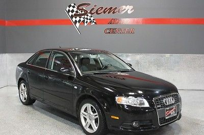 Audi : A4 2.0T BLACK, LEATHER, SUNROOF,AWD,