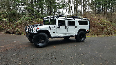 Hummer : H1 Base Sport Utility 4-Door 2003 hummer h 1 wagon low miles and totally built