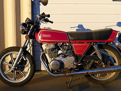 Yamaha XS 1978 Xs 400 Rd Style Vintage Cafe Racer Factory Ahrma Racebike Vft
