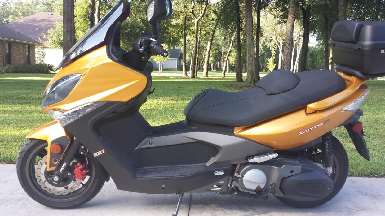 kymco xciting 500 ri motorcycles for sale in florida. Black Bedroom Furniture Sets. Home Design Ideas