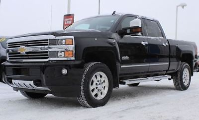 Chevrolet : Silverado 3500 High Country 2015 silverado high country 3500 hd duramax