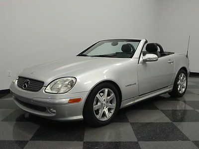 Mercedes-Benz : SLK-Class Kompressor Convertible 2-Door NICE CAR, ONLY TWO OWNERS, FUTURE COLLECTIBLE, PRICED RIGHT, DRIVE IT TODAY!