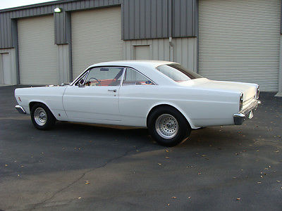Ford : Fairlane GTA 1966 ford fairlane gta big block 427 c 6 trans white red restored very nice