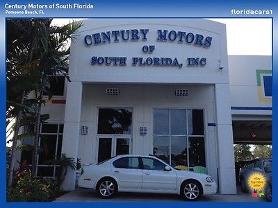 Nissan : Maxima GLE 1 OWNER LOW MILES AUTO ROOF BOSE V6 LEATHER CPO NISSAN MAXIMA GLE AUTO ONE OWNER SUNROOF V6 LEATHER LOW MILEAGE CPO WARRANTY