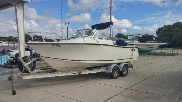 2006 Mako 215 Walk Around