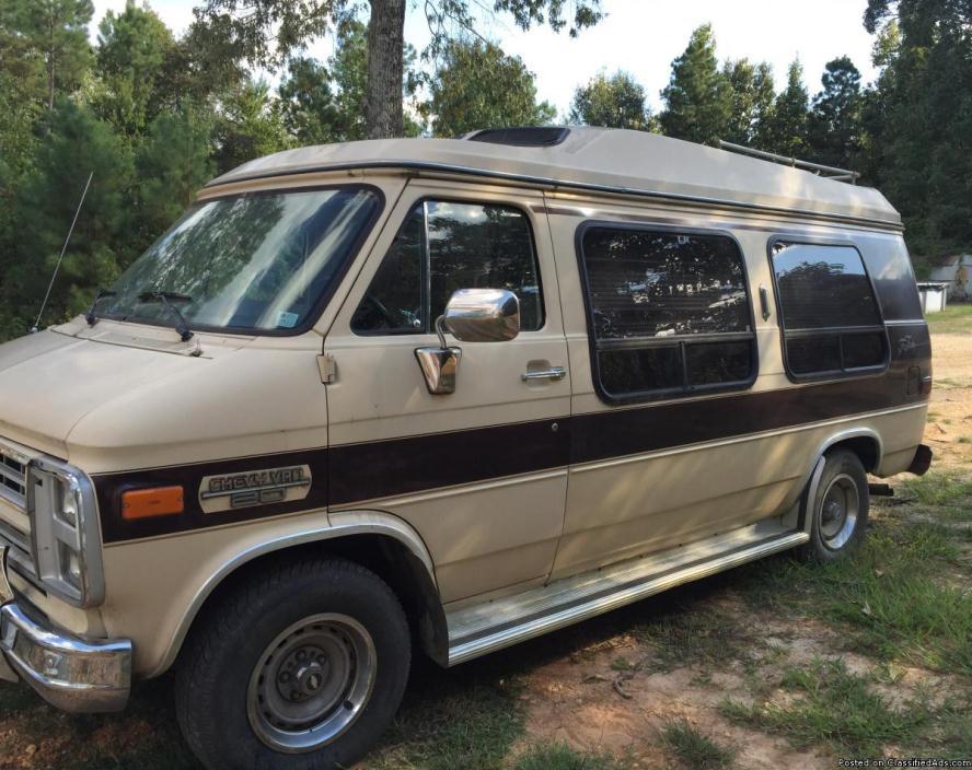 1986 Chevy Conversion Van