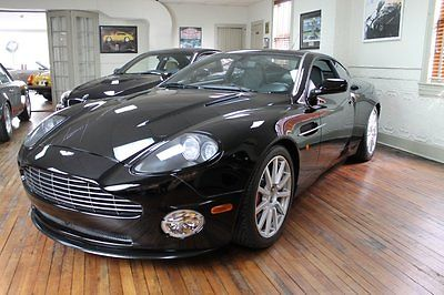 Aston Martin : Vanquish S 2006 aston martin vanquish s 2 owners 11 k miles immaculate condition