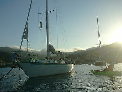 1973 Islander 36 foot I-36 Sailboat Sail Boat USCG