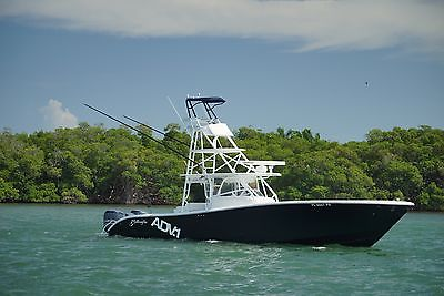 2011 42 Yellowfin yacht, full tuna tower, Simrad,Every option possible