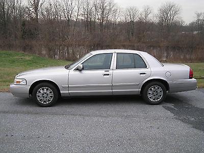 Mercury : Grand Marquis GS Sedan 4-Door 2006 mercury grand marquis gs sedan 4 door 4.6 l low miles