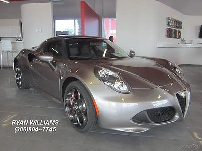 Alfa Romeo : Other New 2016 4C Coupe Sport Tuned Exhaust  Leather Interior Bi-Xenon Headlights