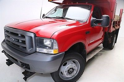 Ford : Other Pickups XLT WE FINANCE!2003 Ford F-550 4WD Dump Truck, Low Miles