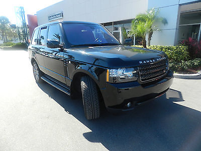 Land Rover : Range Rover HSE LUX  2012 land rover range rover hse lux navigation 360 camera perfection plus