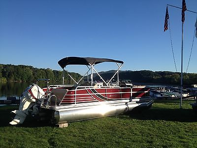 Pontoon Transom Boats For Sale