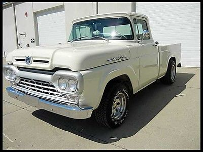 Ford : F-100 Pick up 1960 ford f 100
