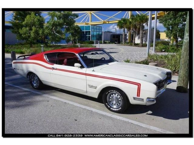 Mercury : Other Cyclone 1969 mercury cyclone spoiler ii cale yarborough edition paint code color car