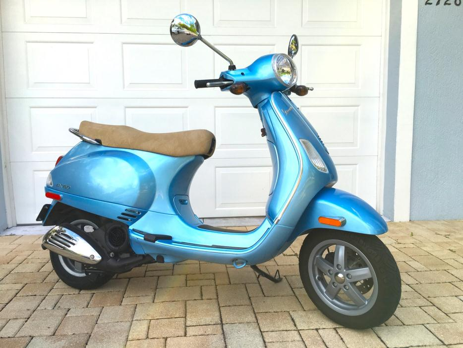 vespa lx 150 motorcycles for sale in florida. Black Bedroom Furniture Sets. Home Design Ideas
