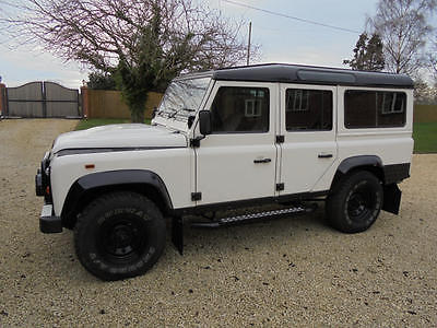 Land Rover : Defender 110 1986 land rover 110 factory 3.5 v 8 csw ice edition refurb