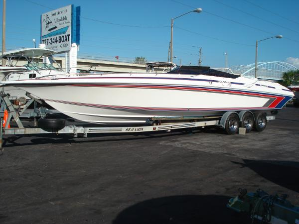 fountain 33 lightning boats for sale