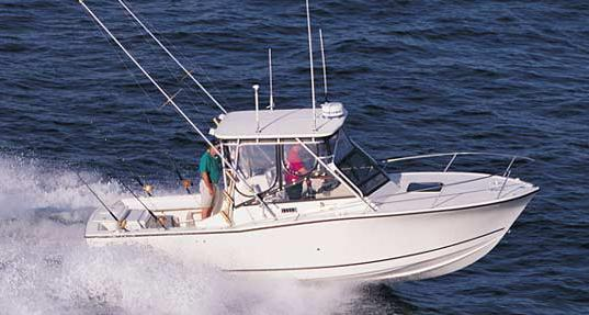 2005 Carolina Classic 25 Express, boat lift kept