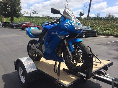 2007 Blue Ninja 650r Motorcycles for sale