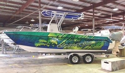 2016 Twin Vee 22 Ocean Cat Center Console Boat Twin Suzuki Outboards